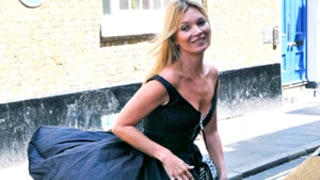 Kate Moss is a golden girl in sexy auction pic - BNL