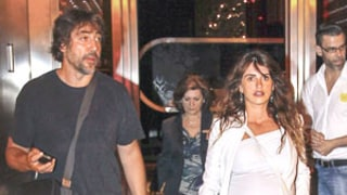 Penelope Cruz Shows Off Growing Pregnant Belly