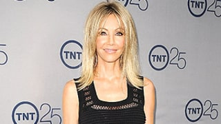 Heather Locklear, 51, Looks Skinny, Stunning in Sheer Dress