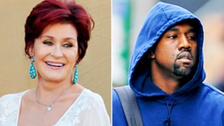 'Average' Kanye West Joins Sharon Osbourne's Diss List