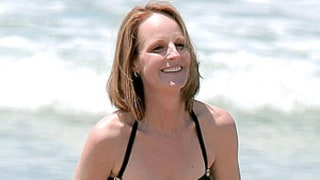 Helen Hunt Shows Off Slim Beach Body at Age 50