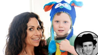 Minnie Driver's Son Henry Taking Piano Lessons: