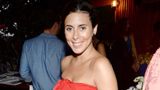 Jamie-Lynn Sigler Shows Off Her Baby Bump in Strapless Dress
