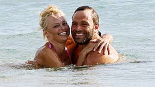 Pamela Anderson Shows Off Bikini Body, Reunites With Ex-Husband Rick Salomon