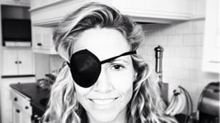 Sheryl Crow Wears an Eyepatch After Playing Tennis With Sons Wyatt, Levi