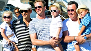 Neil Patrick Harris and His Twins Vacation With Elton John's Family