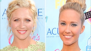 Brittany Snow, Anna Camp Talk Boyfriends Tyler Hoechlin, Skylar Astin at 2013 Teen Choice Awards