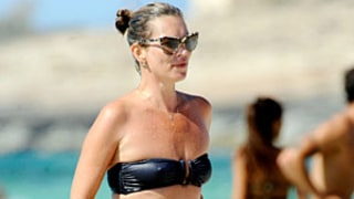 Kate Moss, 39, Looks Curvier in Bandeau Bikini, Made $19 Million in 2012