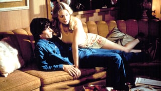 Mark Wahlberg and Heather Graham in Boogie Nights