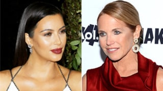 Kim Kardashian Blasts Katie Couric's Gift to North West: