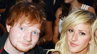 Ellie Goulding, Ed Sheeran Hold Hands at the 2013 MTV VMAs