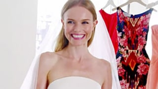 Kate Bosworth Tries on Her Wedding Dress for First Time