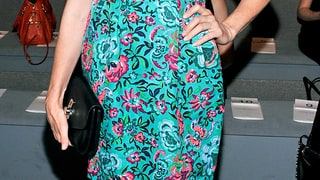 Kelly Rutherford: Nanette Lepore Fashion Show at NYFW