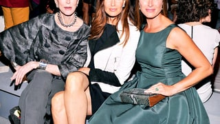 Carmen Dell'Orefice, Carol Alt and Brooke Shields