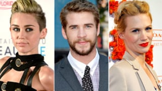Liam Hemsworth Pursued January Jones Before Miley Cyrus Split