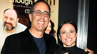 Julia Louis-Dreyfus, Jerry Seinfeld Have Seinfeld Reunion on Red Carpet: Picture
