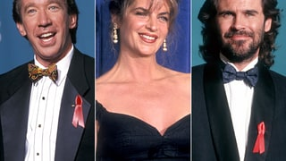 Tim Allen, Kirstie Alley and Dennis Miller