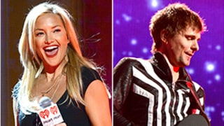 Kate Hudson, Matthew Bellamy Watch Elton John Sing