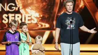 Will Ferrell Brings His Three Sons Onstage at the Emmys: