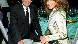 Nigel Lythgoe and Paula Abdul