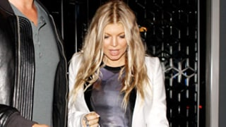 Fergie Rocks Post-Baby Body One Month After Axl's Birth: Pictures