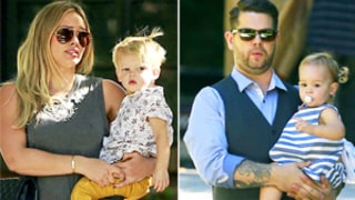 Hilary Duff and Jack Osbourne Bring Kids to Same Baby Class!