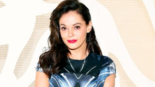 Rose McGowan's House Caught Fire,