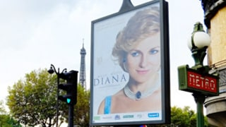 Diana Movie Poster Removed From Outside Paris Tunnel Where Princess Died in Crash