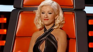 Christina Aguilera Continues to Show Off Weight Loss, Cleavage in New Promo For The Voice: Picture