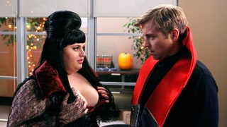 Rebel Wilson and Kevin Bishop