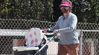 Zach Galifianakis Steps Out With His Baby For Stroll, Keeps Mum On Birth: Picture