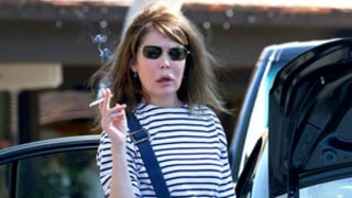 Lara Flynn Boyle Looks Unrecognizable Without Makeup Out in Bel Air With Mom: Picture