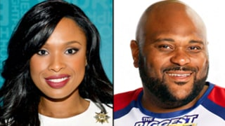 Skinny Jennifer Hudson Supports Fellow American Idol Alum Ruben Studdard on Biggest Loser: