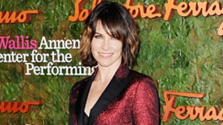 Evangeline Lilly of Lost Hits the Red Carpet With a Chic Bob and a Fierce Pantsuit