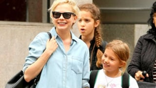 Michelle Williams' Daughter Matilda Ledger Wears T-Shirt Featuring Her Mom As Glinda: Picture