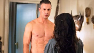 Freddie Prinze, Jr. Makes Out With Madchen Amick on Witches of East End