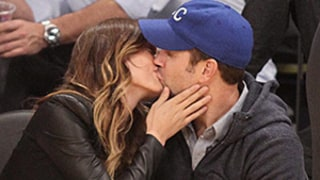 Jason Sudeikis, Pregnant Olivia Wilde Show PDA On Kiss Cam at Lakers Game: Picture