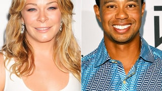 LeAnn Rimes and Tiger Woods