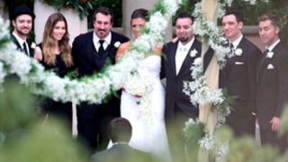 Justin Timberlake, Jessica Biel Attend 'N Sync Member Chris Kirkpatrick's Wedding: Picture