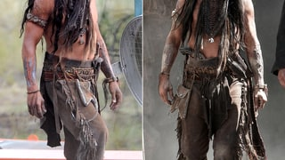 Johnny Depp in Tonto