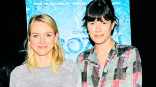 Naomi Watts and Sunrise Coigney Take Their Kids To See Frozen in NYC