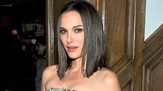 Natalie Portman Debuts Darker Hair Color With Blunt 'Do at Thor Screening: Picture