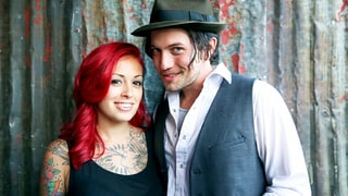 Jackson Rathbone and Sheila Hafsadi