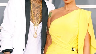 Amber Rose and Wiz Khalifa