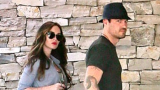 Megan Fox Tries to Hide Baby Bump on Outing With Brian Austin Green