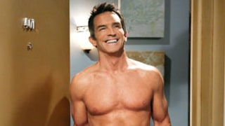 Jeff Probst Strips Down Naked, Sizzles With Bacon in Two and a Half Men Promo Pic