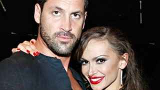 Dancing With the Stars' Karina Smirnoff Explains Kissing Ex-Fiance Maksim Chmerkovskiy During Live Show: