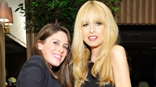 Rachel Zoe Cradles Baby Bump, Hosts Fancy Dinner Party While 9 Months Pregnant: Pictures