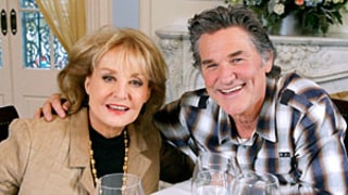 Barbara Walters Goes to Disneyland for First Time at Age 84 With Kurt Russell, The View