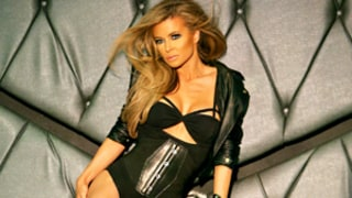 Carmen Electra Models Leotard, Underwear for Sexy Calendar Shoot: Pictures
